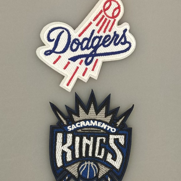 Accessories La Dodgers Sacramento Kings Ironsew On Patches Poshmark